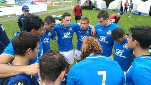 Europei 7s U18, gli Azzurrini chiudono al sesto posto