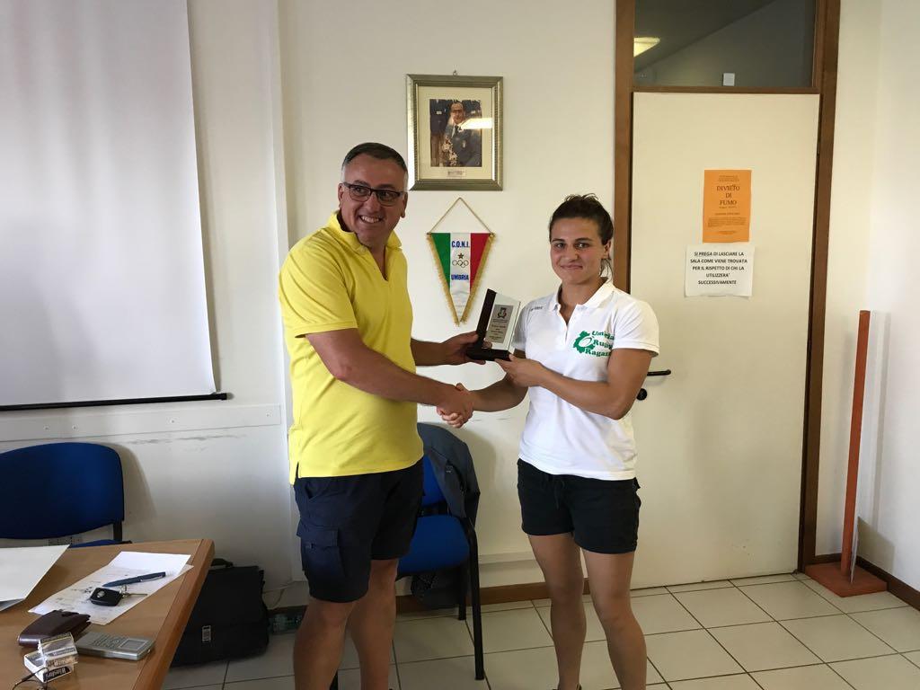 Serena Settembri e Federica Cipolla all'European Beach 5s Rugby Championship