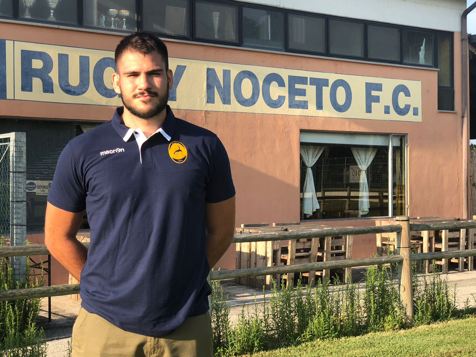 Giacomo Bonfiglio approda a Noceto